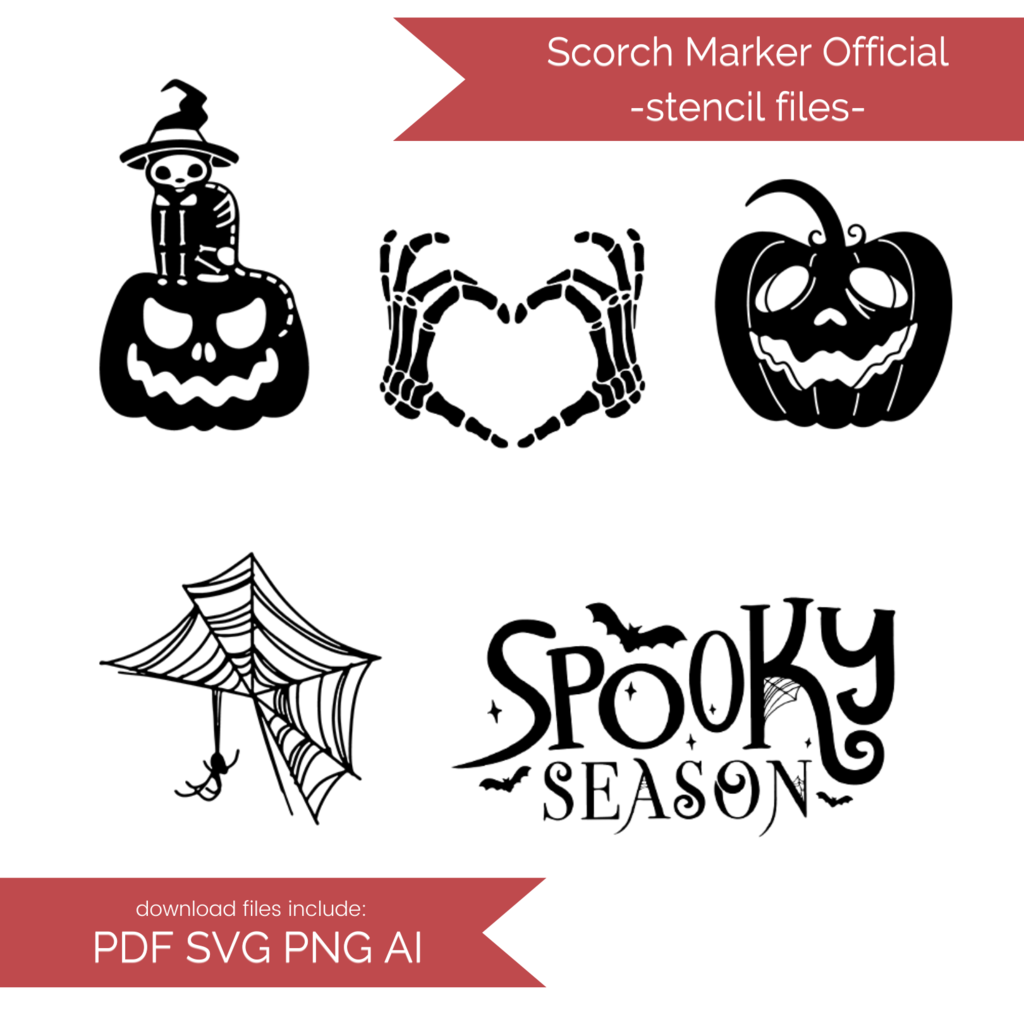 Photo of Halloween Stencil Files! 2020 [AI SVG PNG DXF]