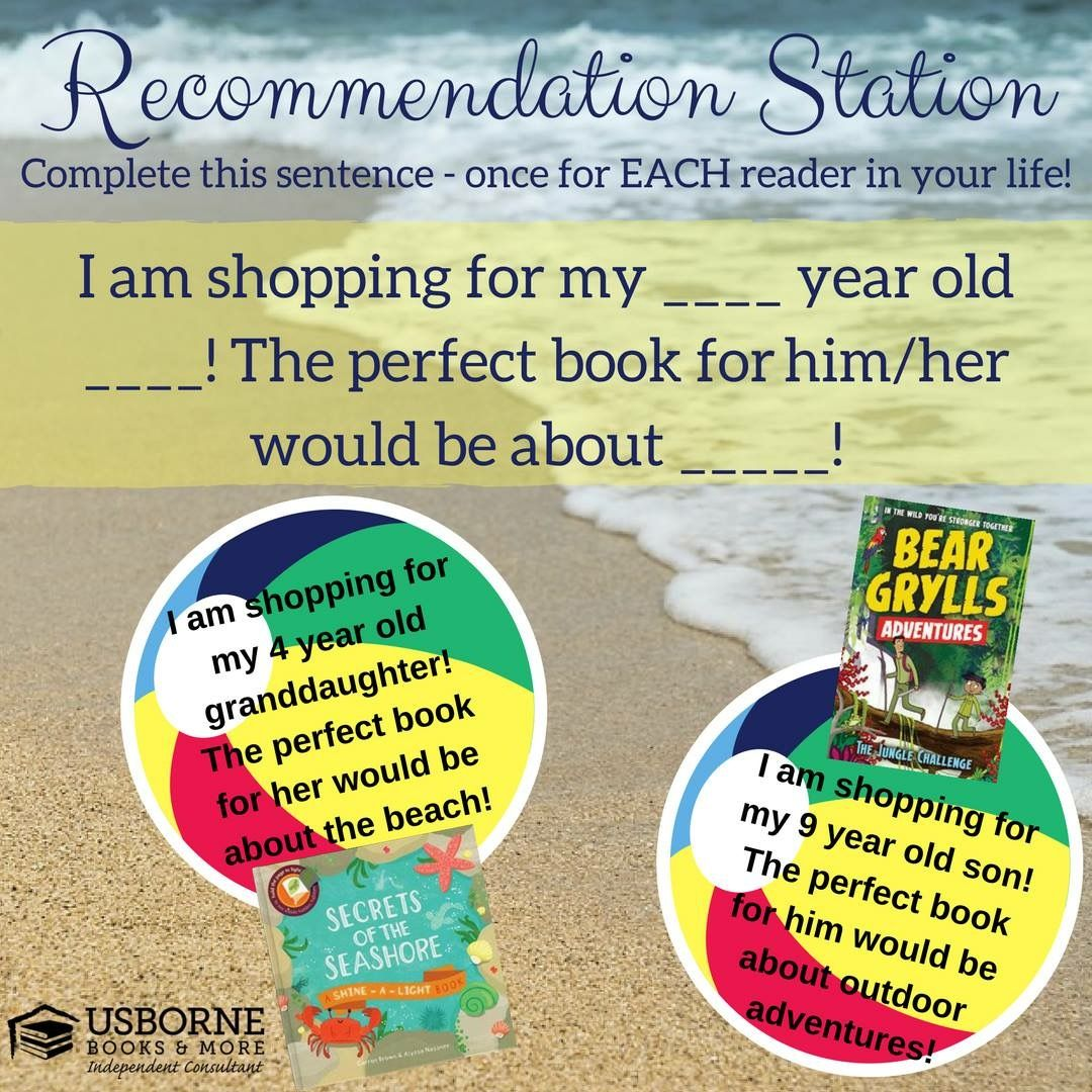 Recommendations | Usborne | Summer books, Book