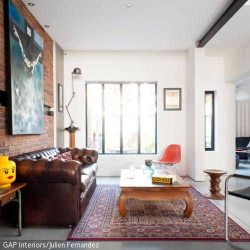Das Wohnzimmer ist der wohl meist genutzte Raum zu Hause u2013 eben - wohnzimmer braunes sofa