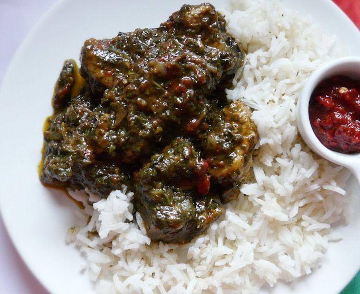 Ravitoto plat malgache cuisine africaine cr ole - Specialite africaine cuisine ...