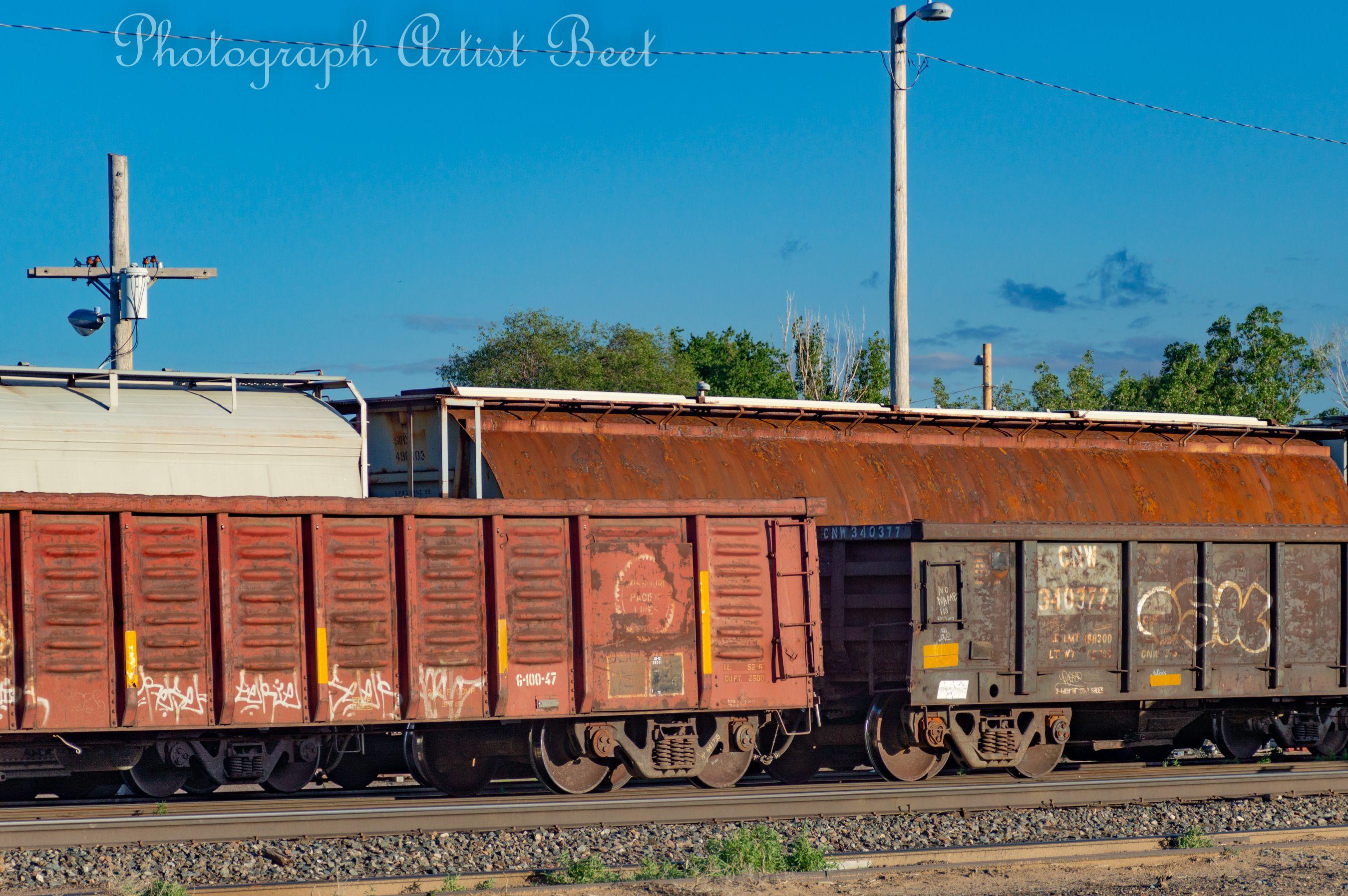 Trains In The Yard Train Train Photography Train Car