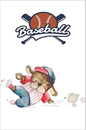 Puppy Baseball Player Notebook for Dog Lovers, Baseball Players: Cute Dog Designed Notebook I Great Gift for Young Active Baseball Players