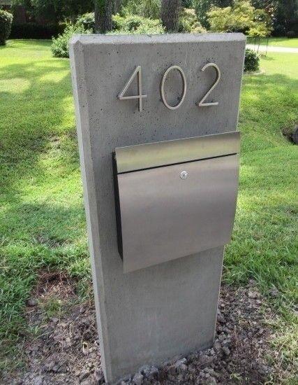 Modern Wall Mount Mailboxes Foter Mailbox Design