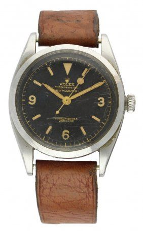 Rolex Explorer ref: 6350 C.1953