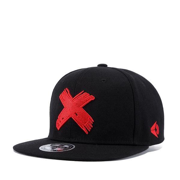 PLZ Embrioidery X Snapback Baseball cap Men Hat Flat Brim 2018 Brand New  Design Dancer Rapper Skater Hats Adjustable Summer Caps d7e032c258911