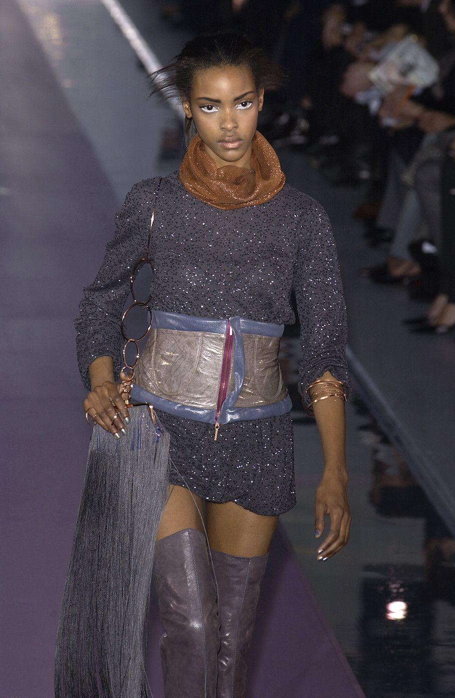 Fendi at Milan Fashion Week Fall 2003.