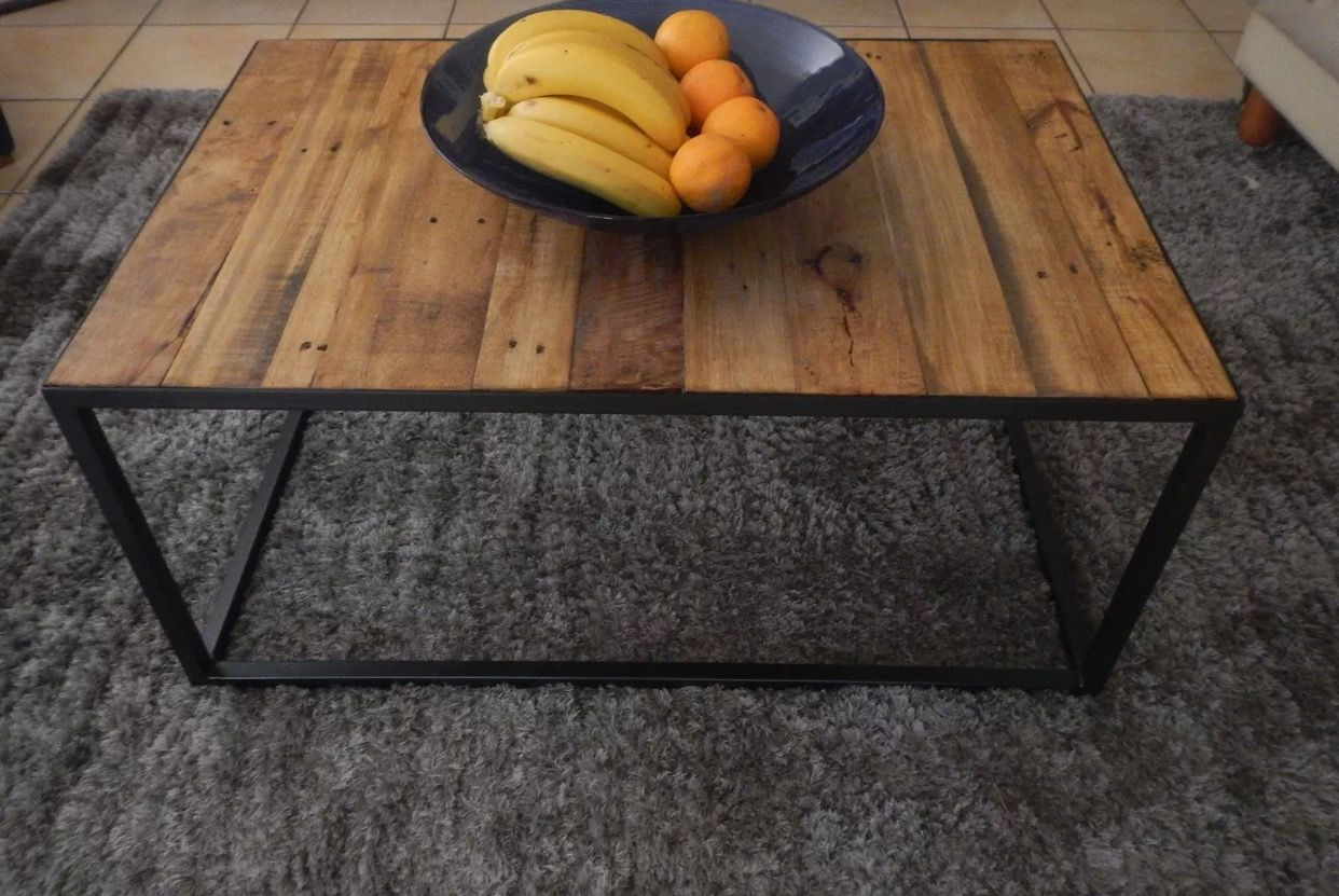 Metal And Recycled Timber Coffee Table Available In Robina From Ebay Coffee Table Metal Coffee Table Table [ 831 x 1242 Pixel ]