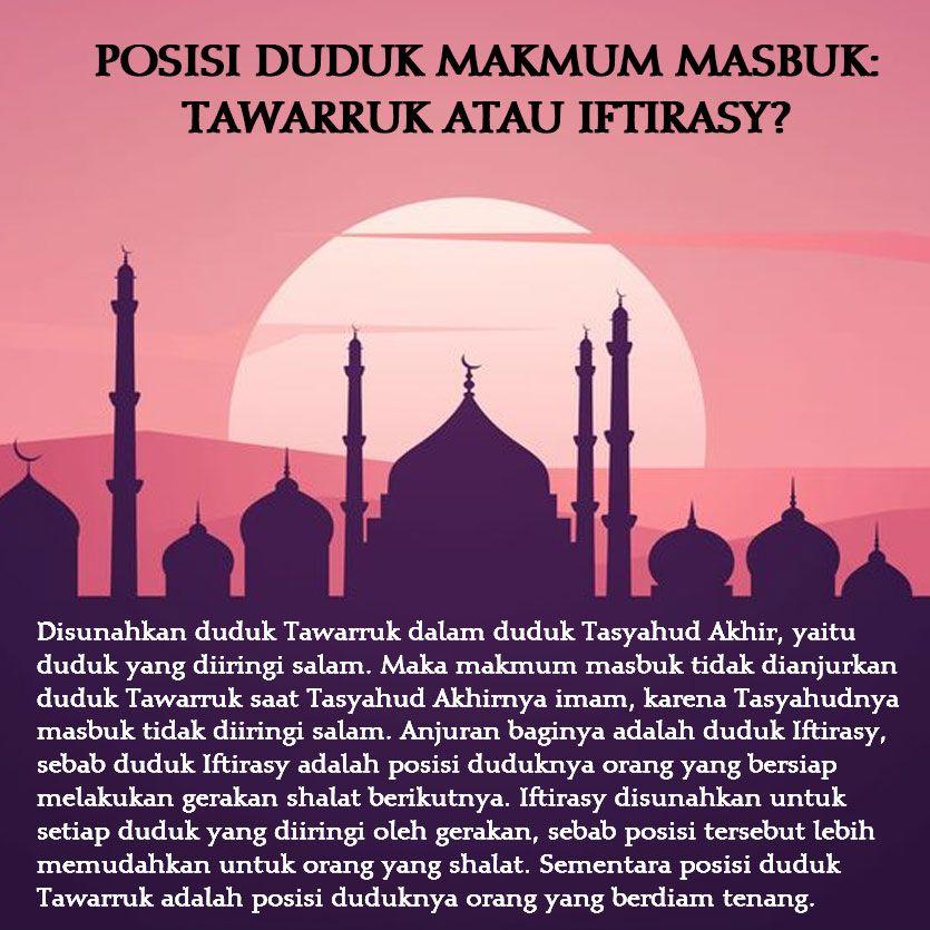 Https Nasihatsahabat Com Posisi Duduk Makmum Masbuk Tawarruk Atau Iftirasy Masbuq Masbuk Makmummasbuk Makmummasbuq Tata Learn Islam Muslim Quotes Islam
