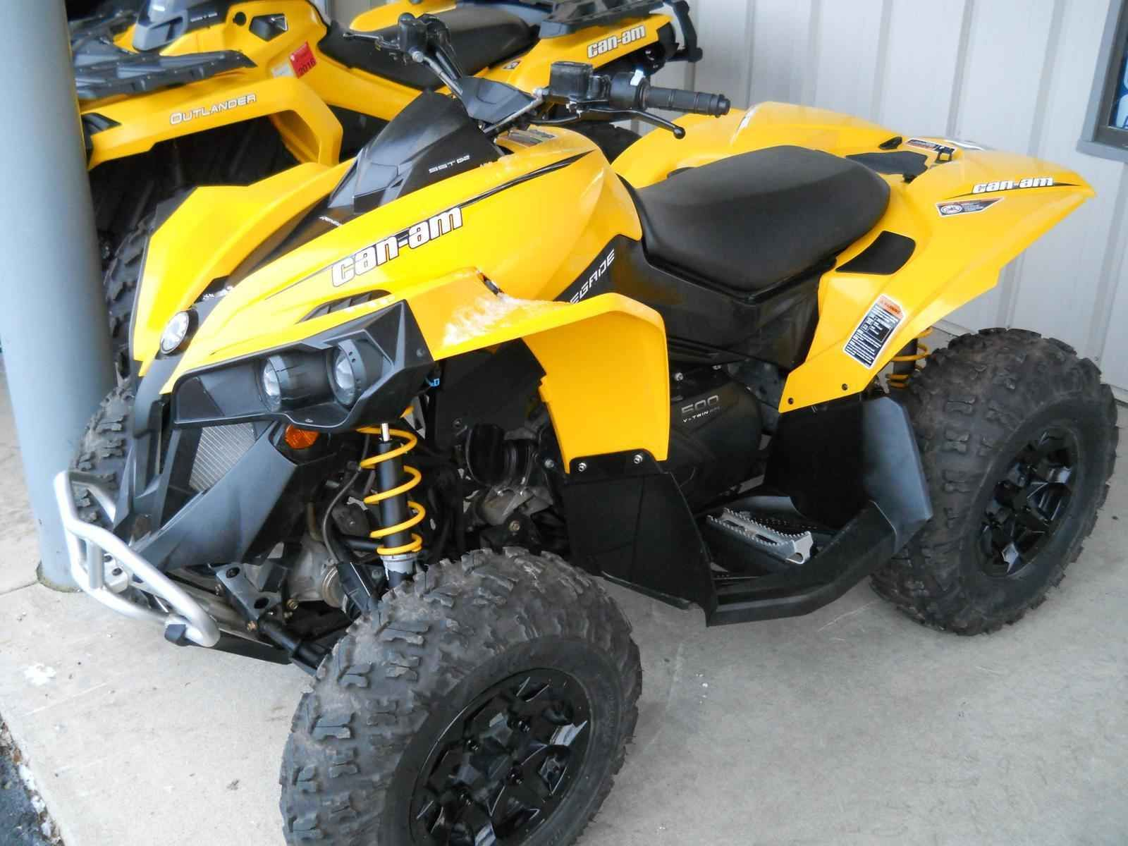 Used 2014 can am renegade 500 atvs for sale in wisconsin 2014 can