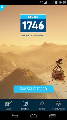 """""""Aplicativo que permite fazer solicitação dos principais serviços públicos municipais e consultar o status dos protocolos já abertos. Além disso, oferece acesso às redes sociais do 1746, a Central de atendimento da Prefeitura do Rio de Janeiro.""""  http://Mobogenie.com"""