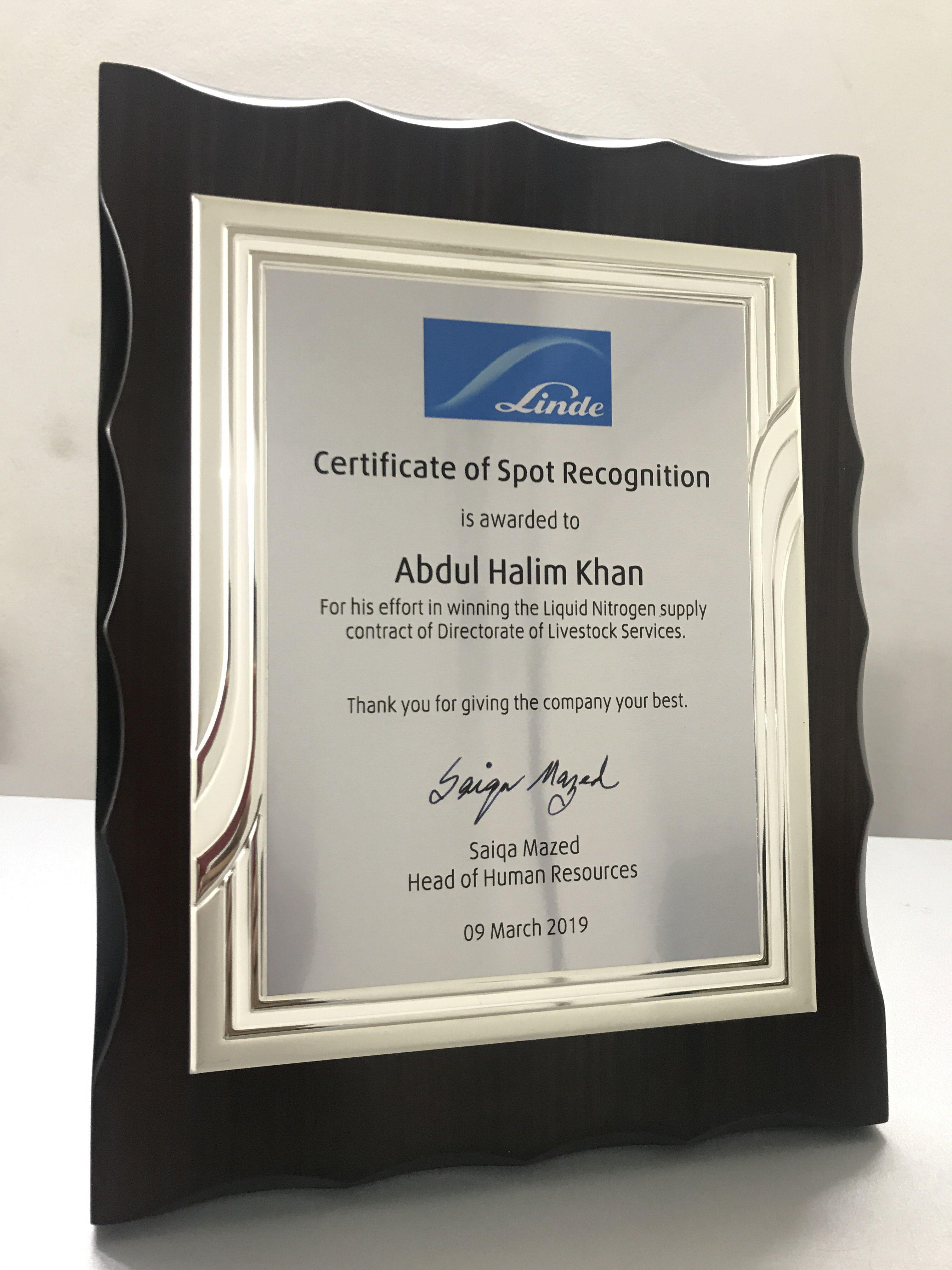 certificate crest awards appreciation military
