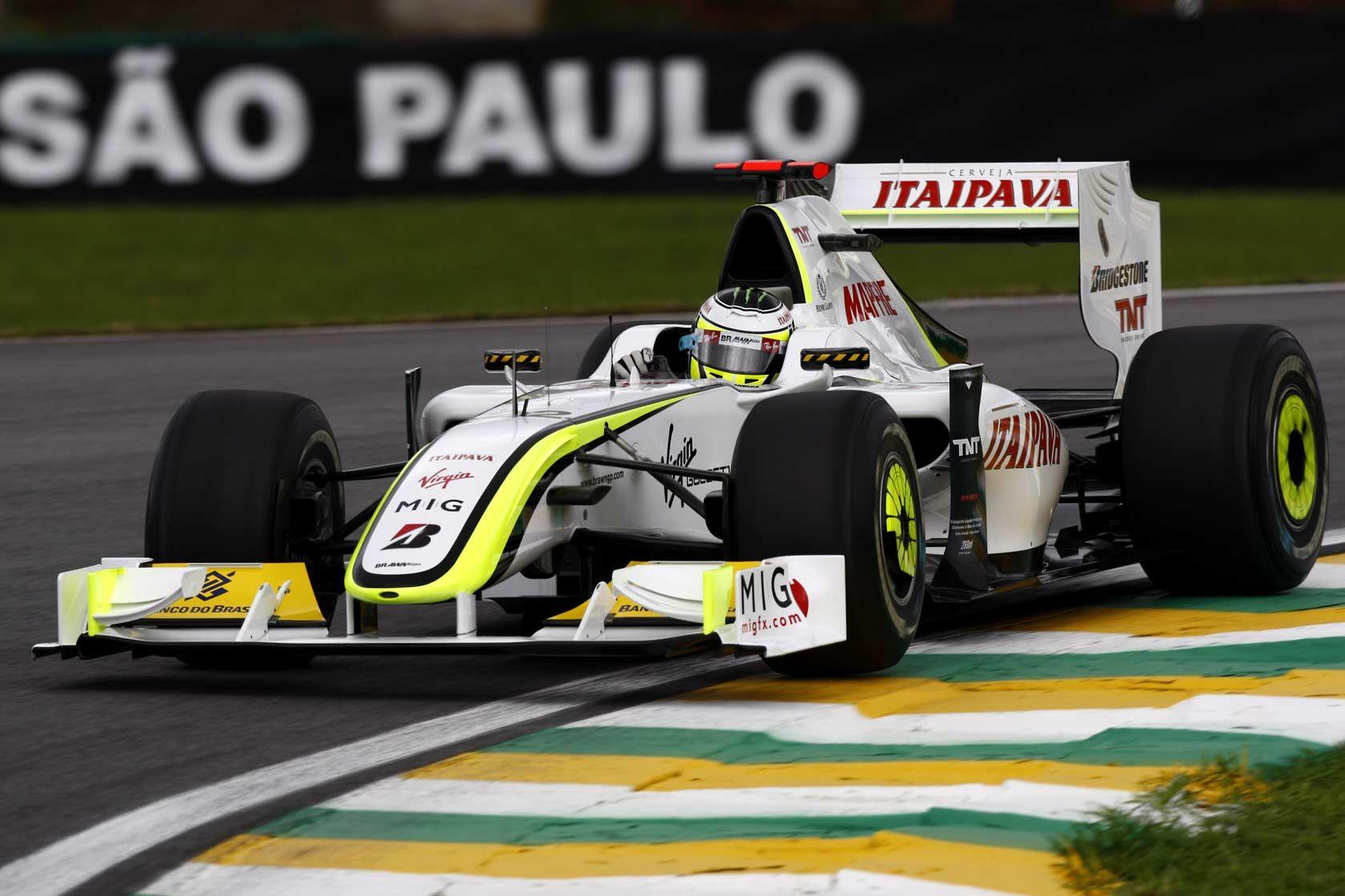 Jenson Button / Brawn BGP001 | Formula 1 car, Indy car racing, Brawn