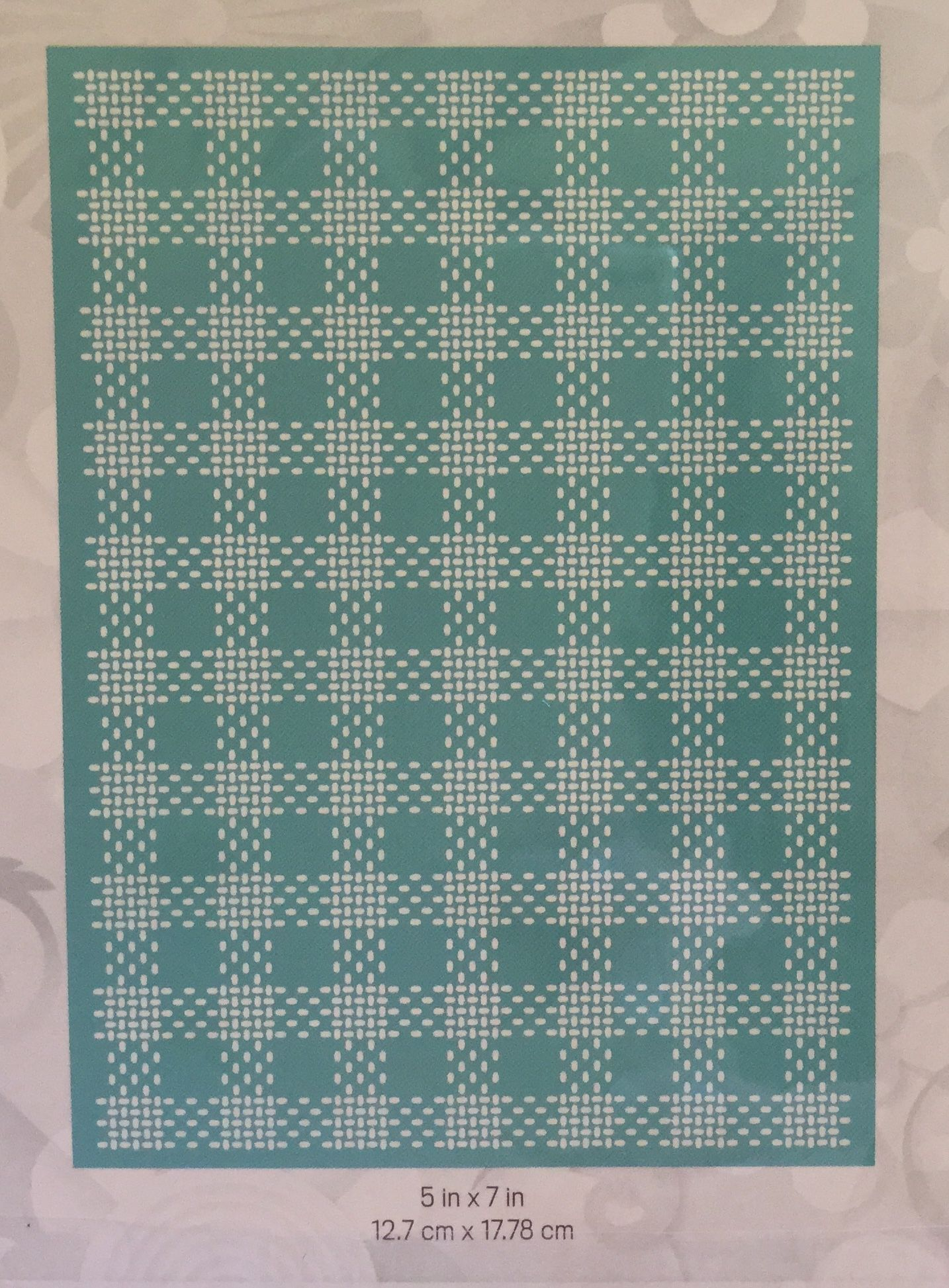 Lifestyle crafts embossing folders - Cricut Cuttlebug Embossing Folder Kitchen Weave
