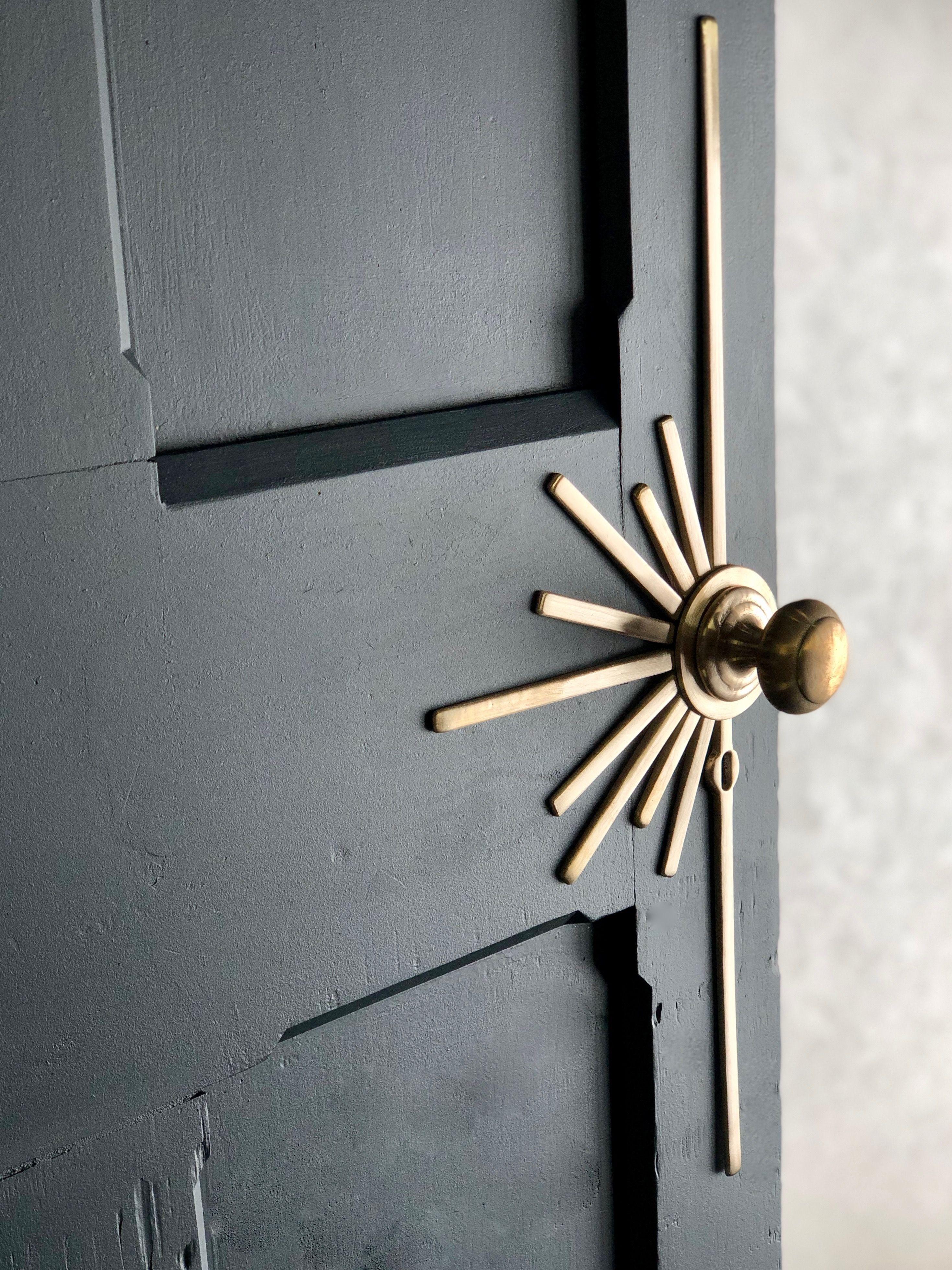 Starburst Door Handle Home Deco House Design Home Decor