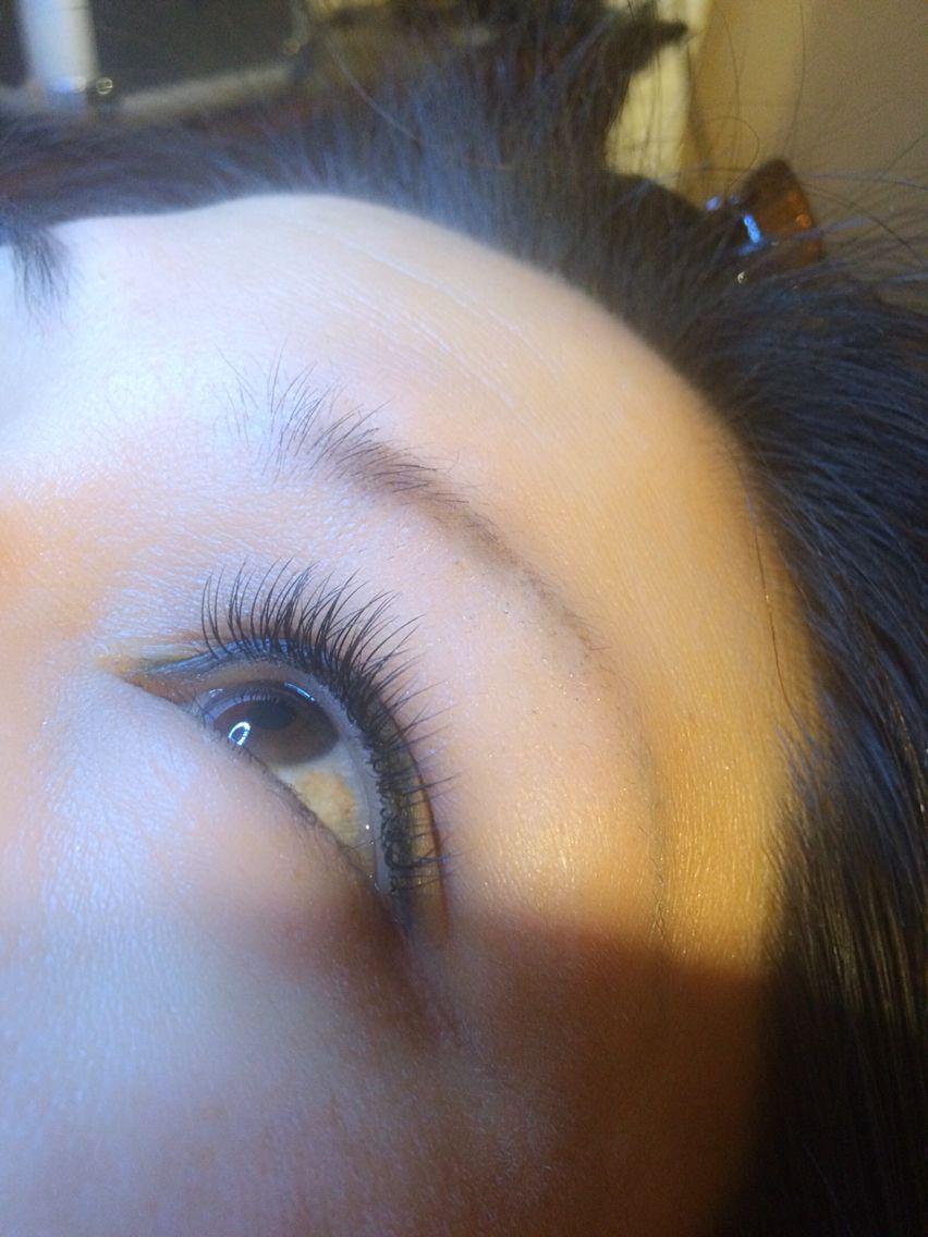 Eyelash extensions, Individual eyelash extensions and Extensions ...