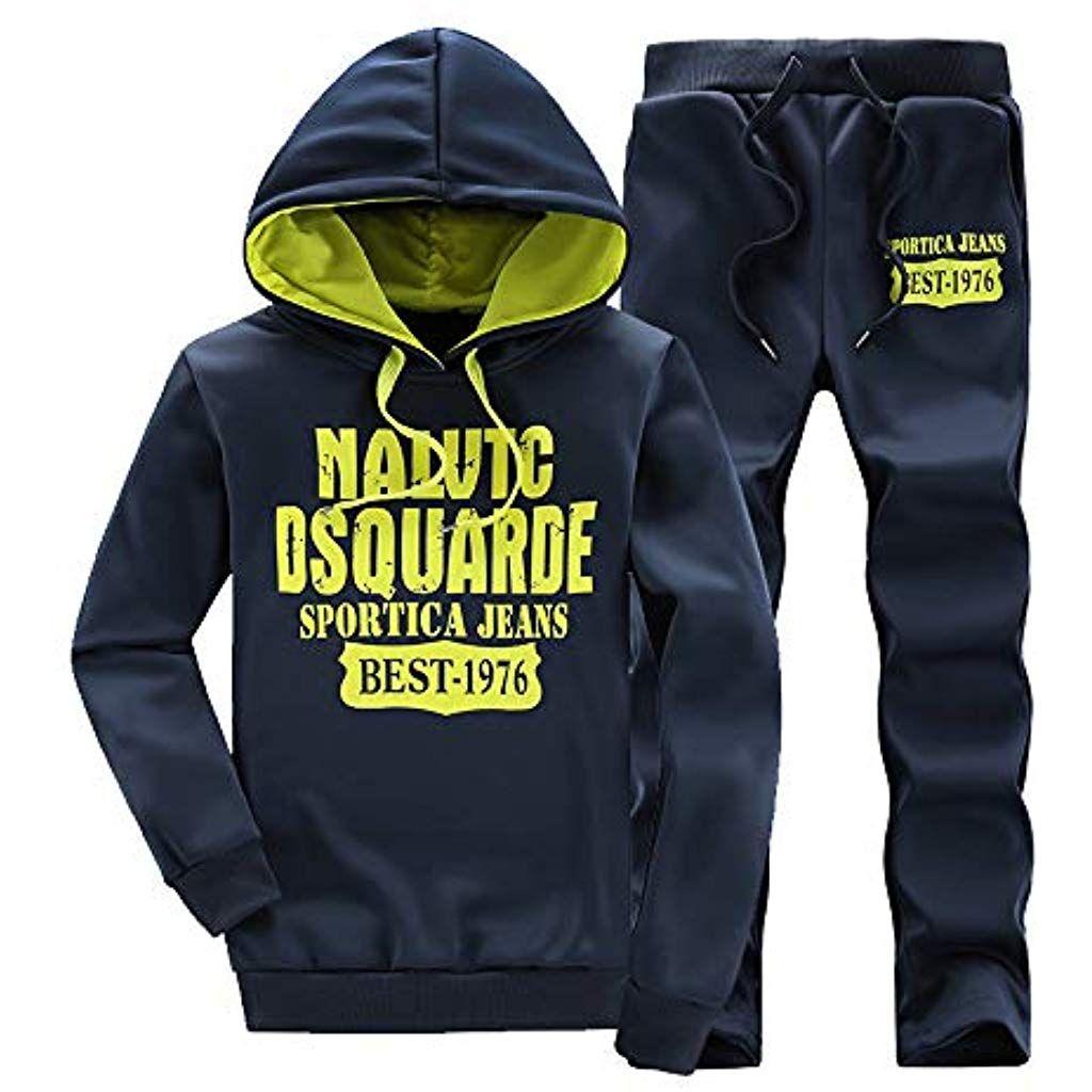 modelli alla moda brillante nella lucentezza vendita calda online feiXIANG Uomo Felpa Pantaloni - 2 Pezzi - Tute Sportiva ...