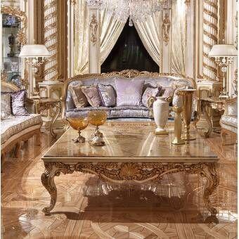 Opulent Living Room Luxury Homes