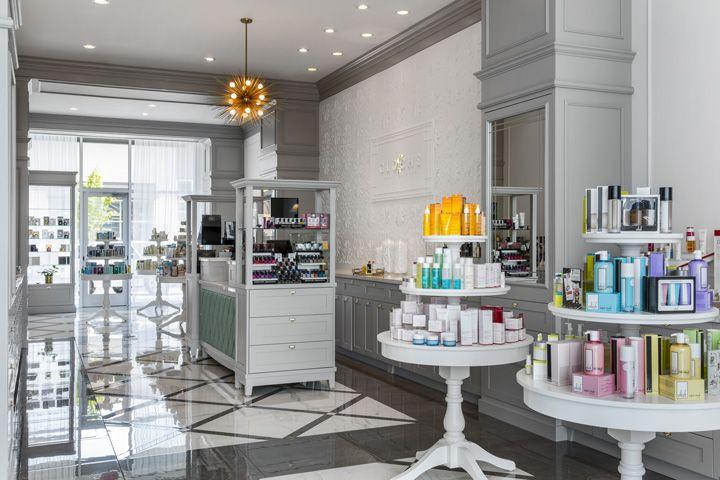 Cloche beauty boutique by vizwerks portland oregon for Salon fixtures