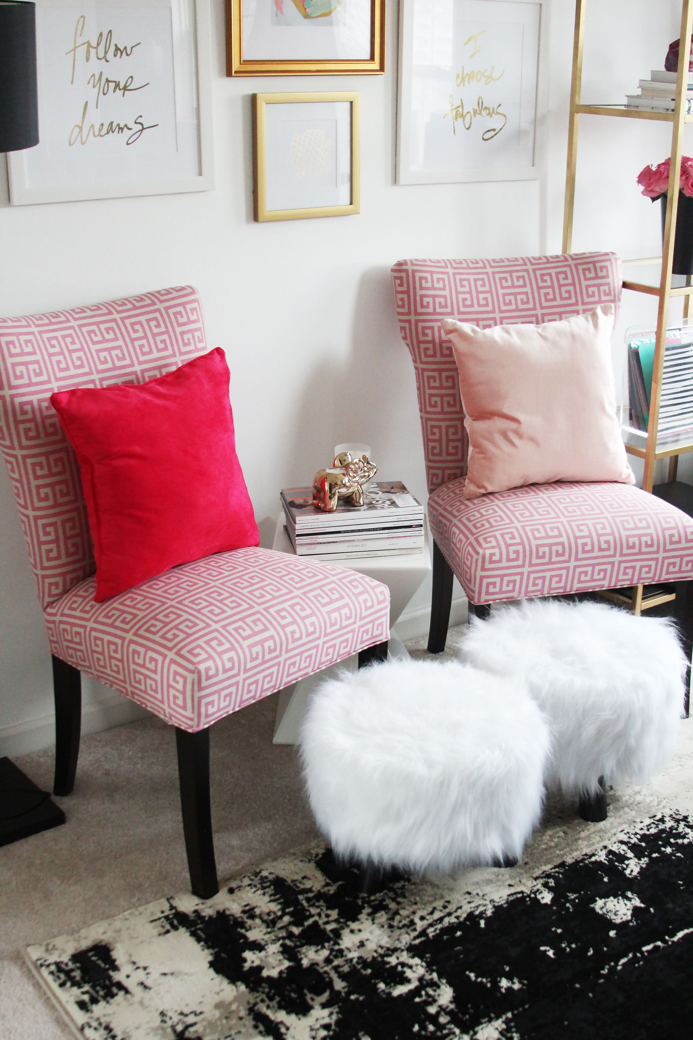meagan home office. Meagan Ward\u0027s Girly-Chic Home Office {Office Tour 0