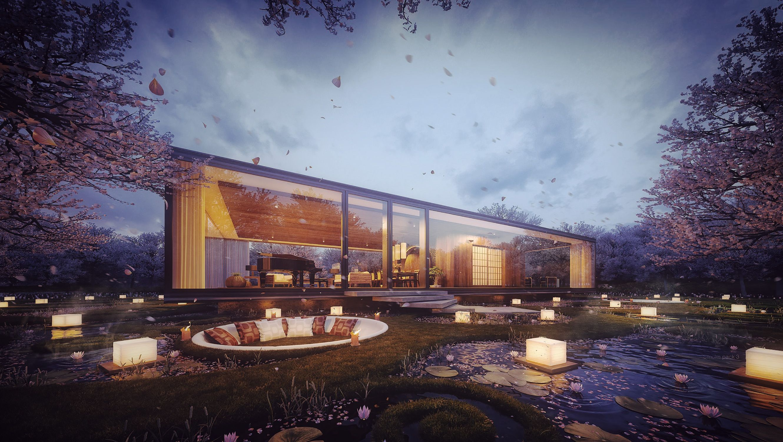 3D Visualization – Gardenian House