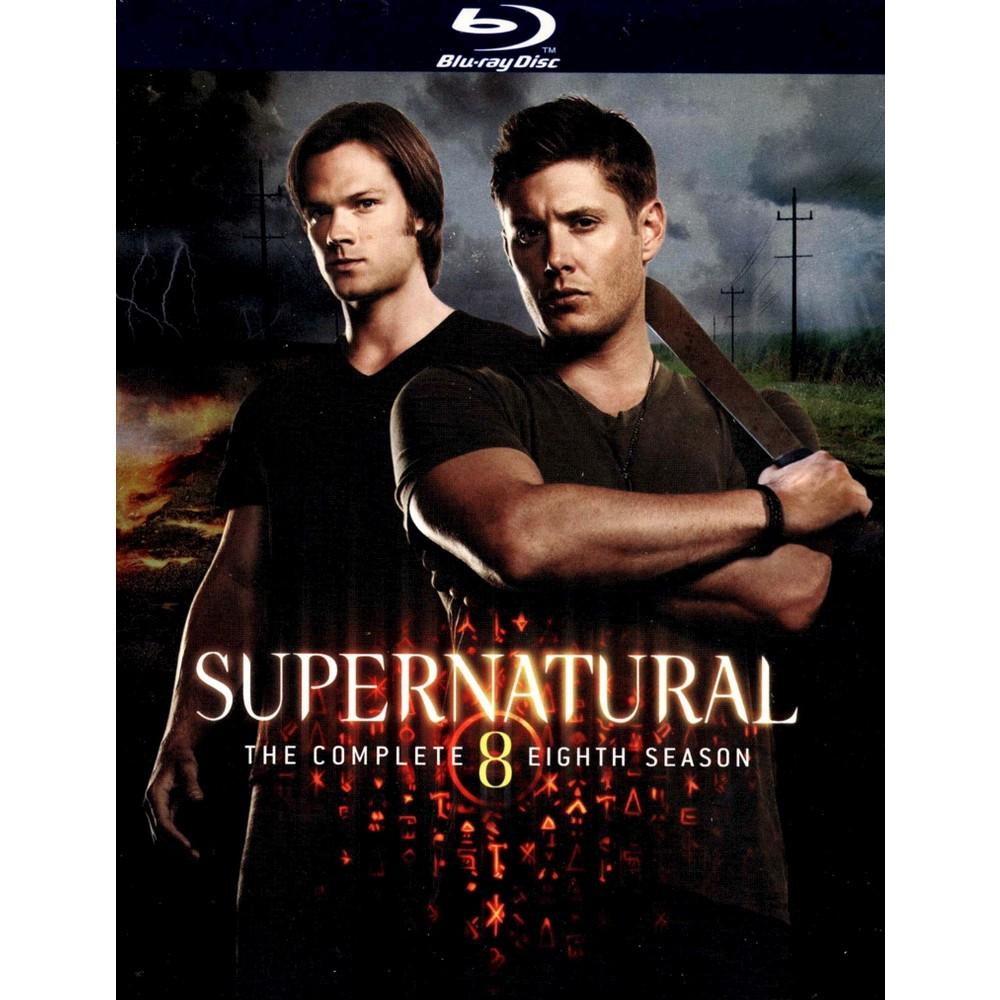 Supernatural The Complete Eighth Season [4 Discs] [Blu