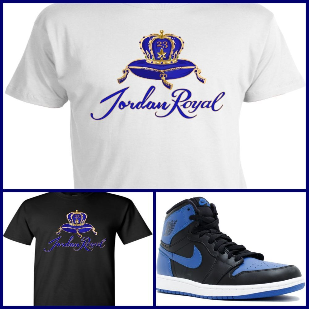 0fe813be3fe9e Exclusive tee/t-shirt #4 to match air jordan 1 or 31 royal blue or ...
