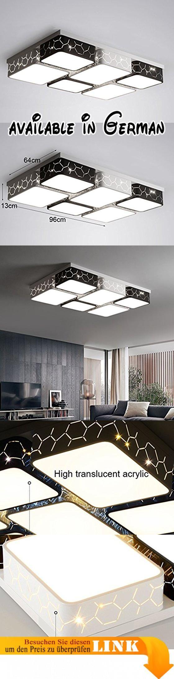 Home mall- LED Deckenleuchte Wohnzimmer Schlafzimmer Küche Korridor ...
