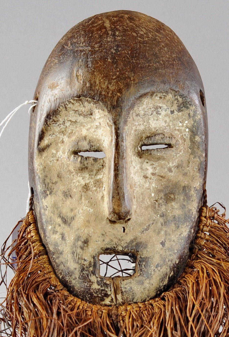 Masque LEGA  Lukwakongo - Bwami  - Mask- Congo RDC - MC0465