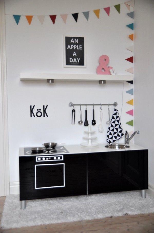 Reciclar muebles: 6 Ikea Hacks para niños | Cocinas de juguete, Ikea ...