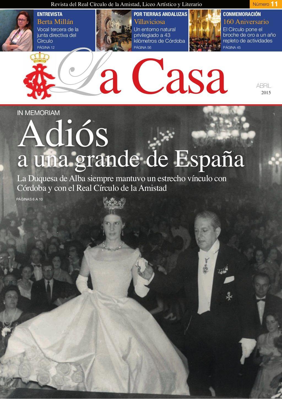 Revista La Casa Del Real Círculo De La Amistad Córdoba Nº 11 Amistad Circulo Revistas