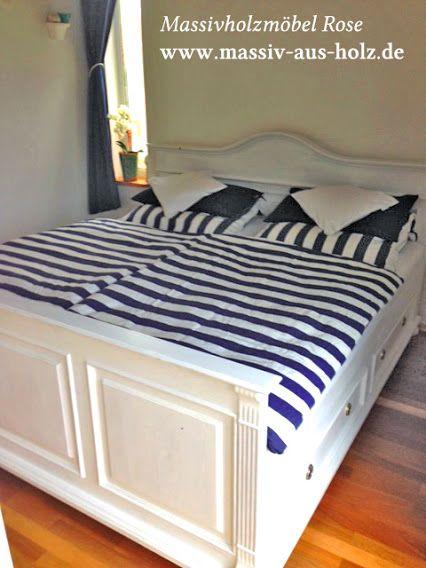 die besten 25 holzbett 140x200 ideen auf pinterest. Black Bedroom Furniture Sets. Home Design Ideas