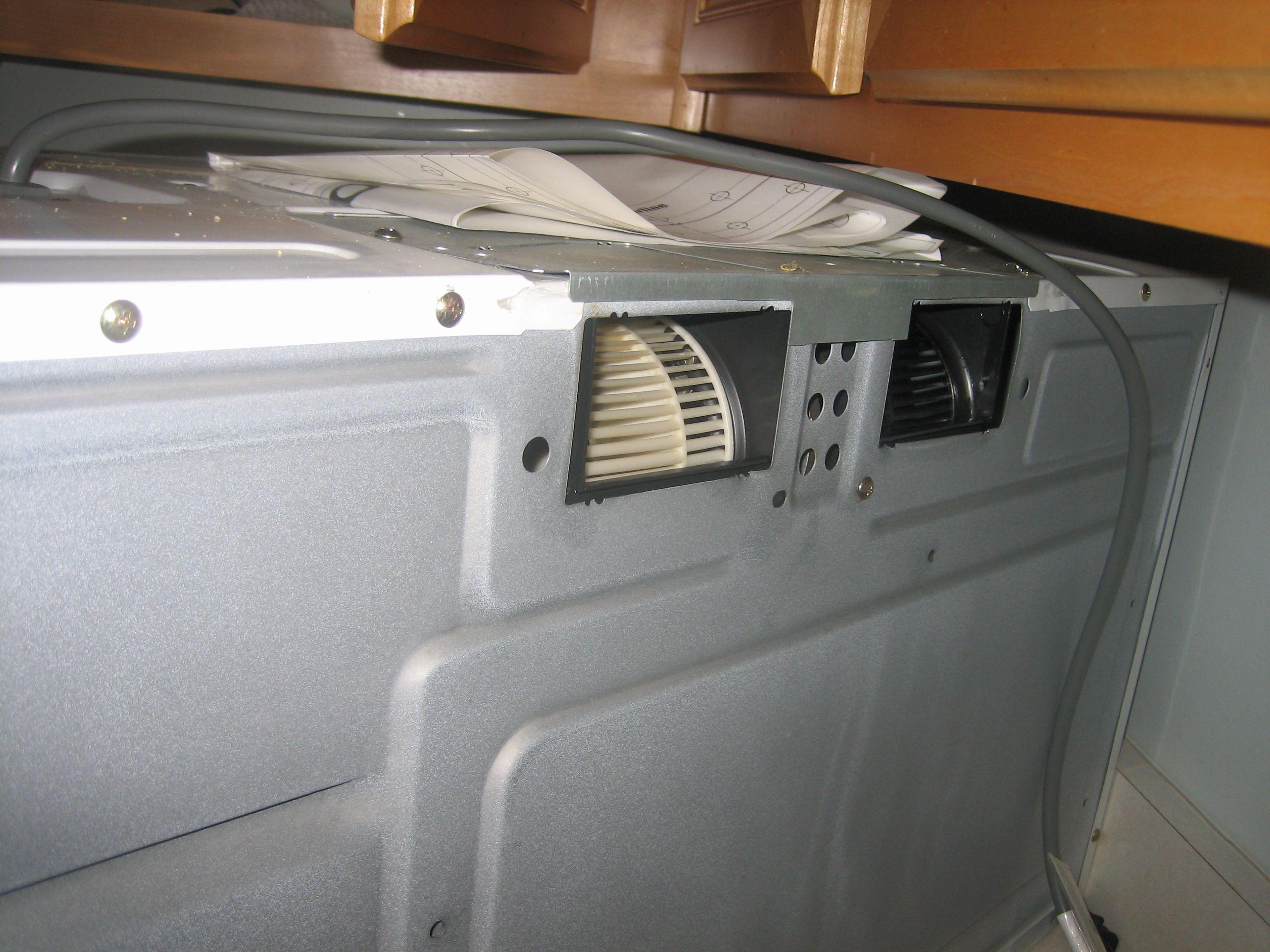 Microwave Exhaust Fan Noise