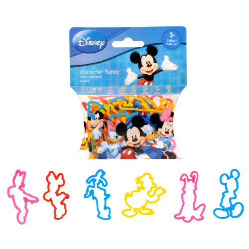 Pack Of 24 Disney Mickey and Friends Mickey and Friends Logo Bandz