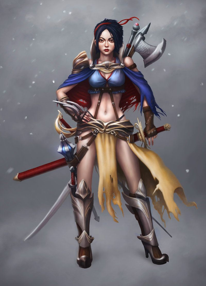 Snow White by ZagreoNDY.deviantart.com on @DeviantArt