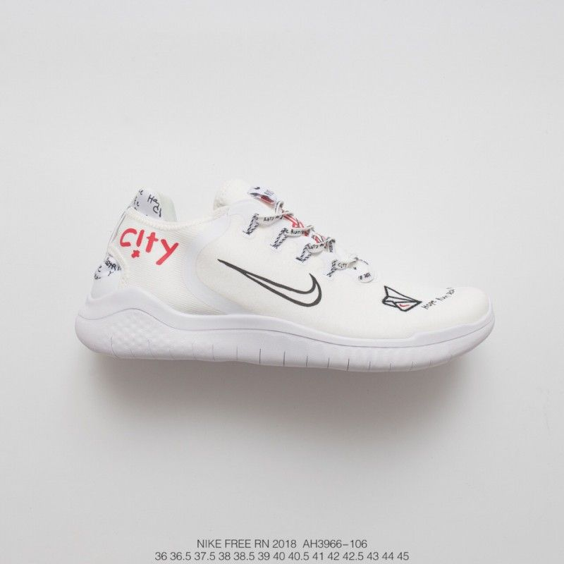 All White Nike Free Runs,AH3966-106