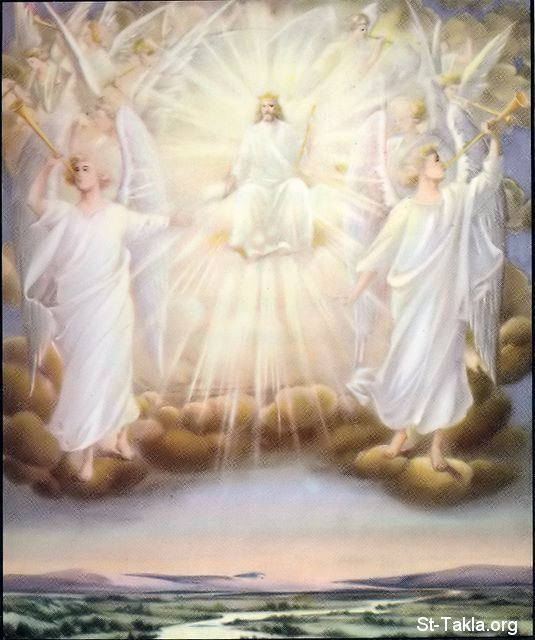 The Son Of God On His Throne With His Angels Angel Angel