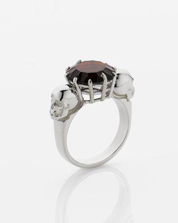 Skull Cocktail Ring   Meadowlark Jewellery OH PRETTY PLEASE