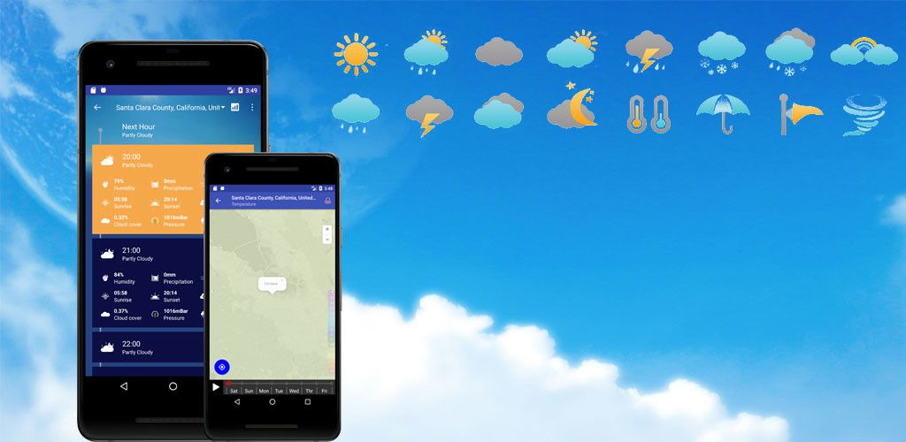 Weather Forecast Pro Timeline, Radar, MoonView v2 7 Full