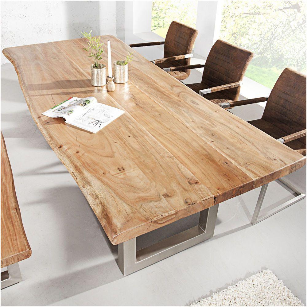 Einfach Holztisch Esstisch Boomstam Tafel Houten Salontafels