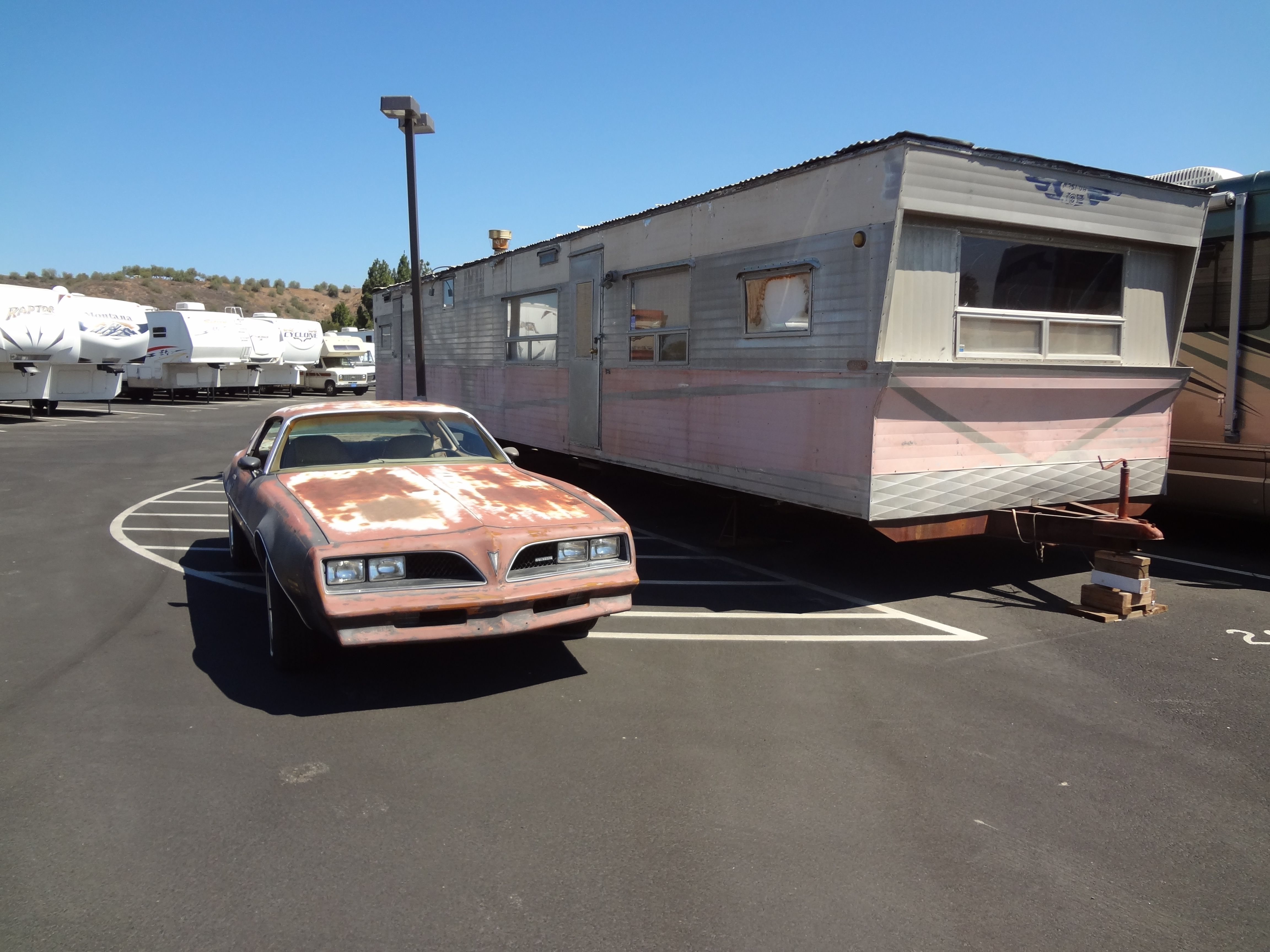 Screen used 1978 Firebird from The Rockford Files.   Pat McKinney\'s ...