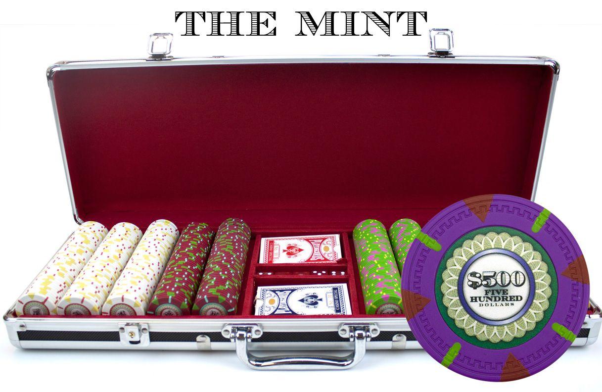 4 pcs Lot of WORLD POKER TOUR Casino Gaming Chips Set FREE Las Vegas Chip