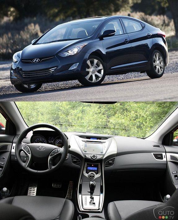 Best Hyundai Cars: Hyundai Elantra 2013 (The Best Featured Car In Economy