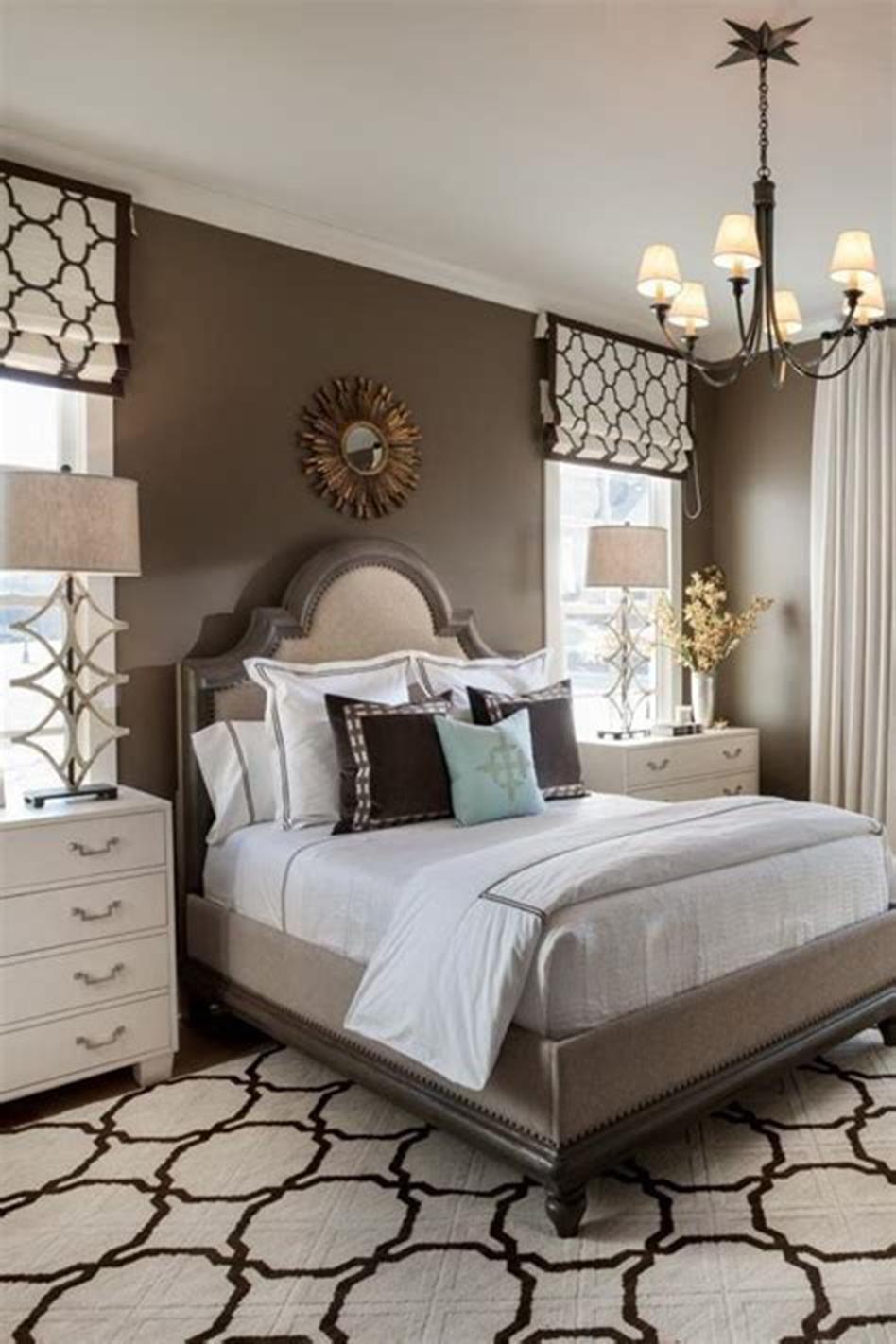 55 Amazing Small Master Bedroom Decorating Design Ideas on ...
