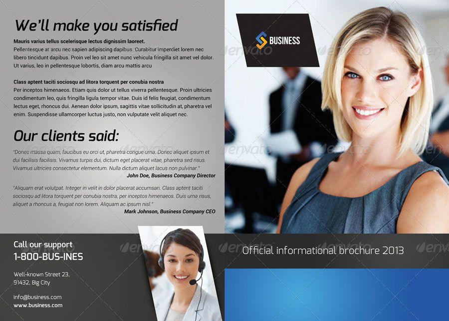 Bi-Fold Brochure 2 #Ad #Bi, #spon, #Fold, #Brochure