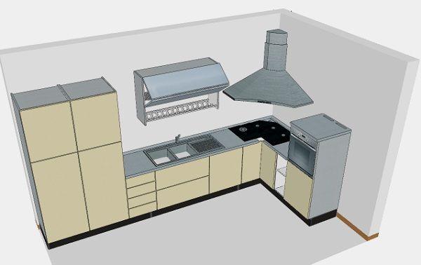 piano cottura angolare  Cerca con Google  casa  Cucina