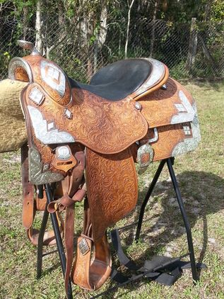 Phil Harris Show Saddle 15 5 for sale in Palm beach, Florida