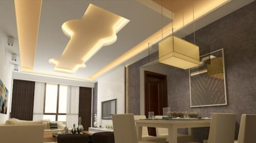 Gypsum Board Ceiling Design Ideas For Open Plan Apartment In Today S Article You Will See A Full Gyps False Ceiling Design False Ceiling Bedroom False Ceiling
