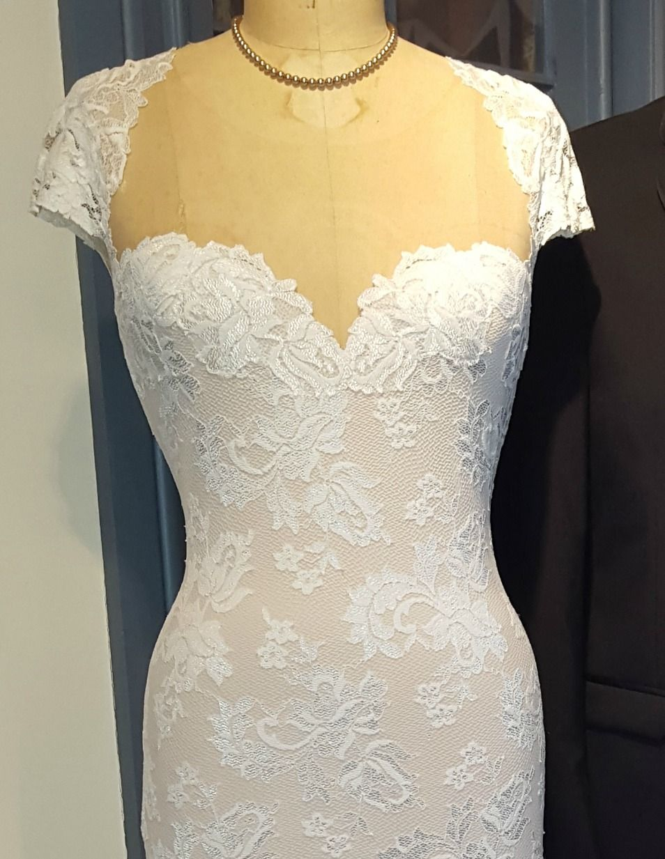 Olvi's Trend stretch lace bridal gown www.harleysvillebridal.com