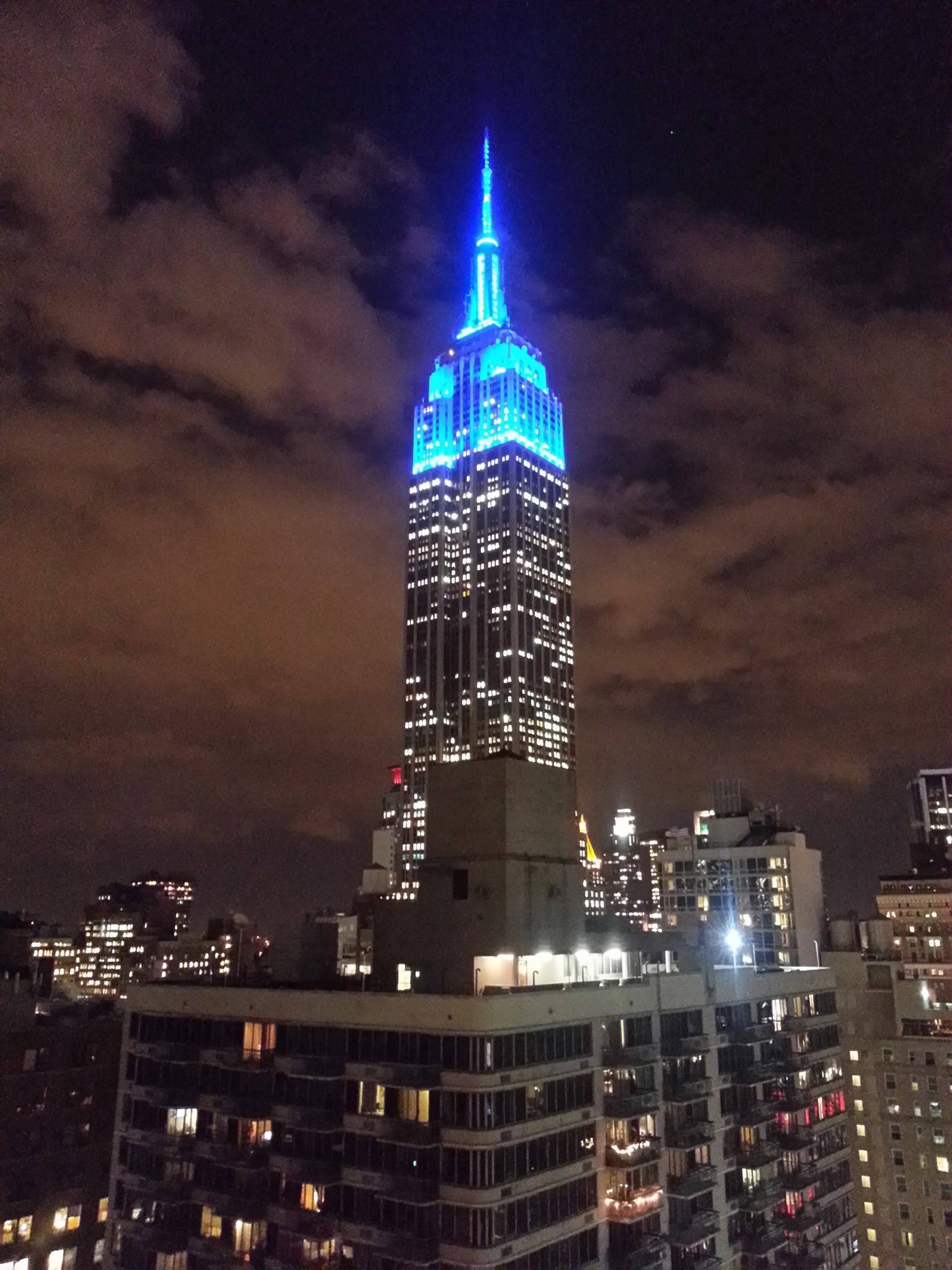 Empire State Building   Light It Up Blue