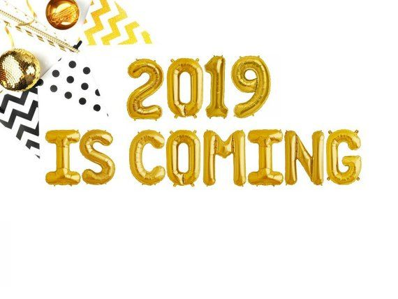 2019 IS COMING - New Years eve party balloon - 16